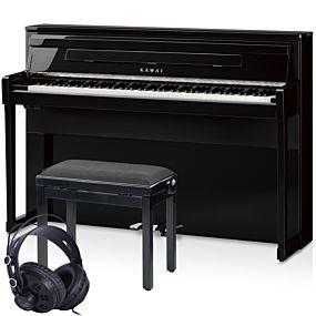 Kawai CA99 Digitalpiano Schwarz Poliert Set