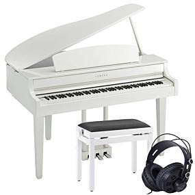 Yamaha CLP-765GP Hochglanz Weiß Set