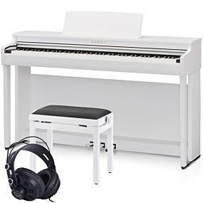 Kawai CN29 Digitalpiano Premium Weiß Satiniert Set