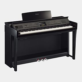 Yamaha Clavinova CVP-805 Digitalpiano Hochglanz Schwarz