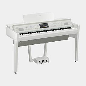 Yamaha Clavinova CVP-809 Digitalpiano Hochglanz Weiß