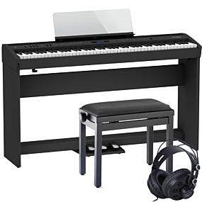 Roland FP-60X Stage-Piano Schwarz Set