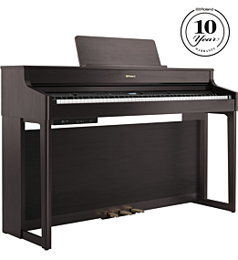 Roland HP702 Digitalpiano Rosenholz