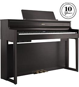 Roland HP704 Digitalpiano Rosenholz