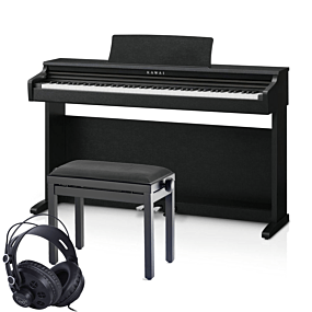 Kawai KDP-120 Schwarz Digital Piano Set