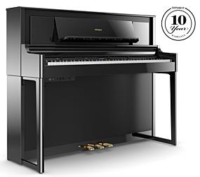 Roland LX706 Digitalpiano Hochglanz Schwarz