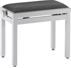 Digitalpiano DPB-100 Klavierbank Weiß Poliert