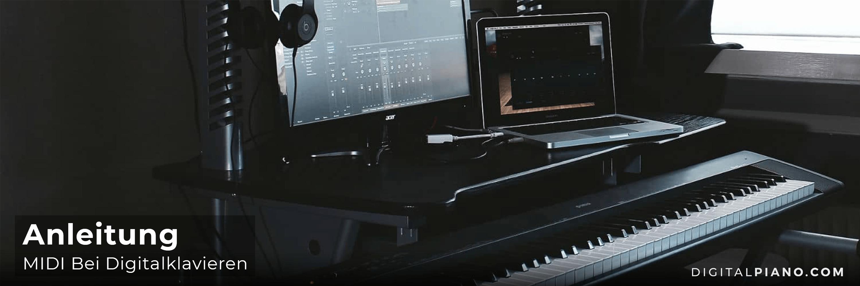 Anleitung Für MIDI bei Digitalklavieren