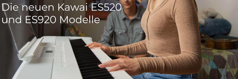 Die neuen ES520 und ES920 Digitalpianos