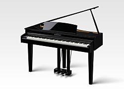Kawai DG-30 Piano à Queue Numérique en Ébène Polie