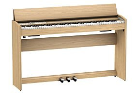 Roland F-701 Piano Numérique en Chêne Léger