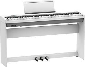 Roland FP-30X Paquet Blanc avec Support et Pédales