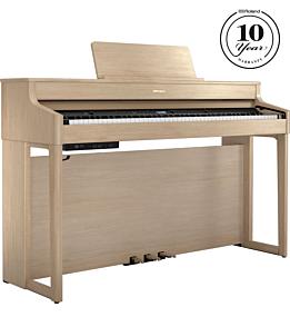 Roland HP-702 Piano Numérique en Chêne Clair