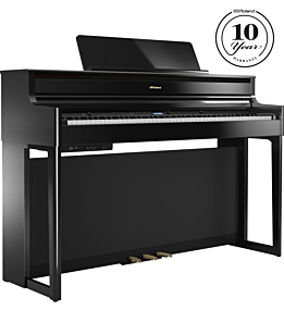 Roland HP-704 Piano Numérique en Ébène Polie