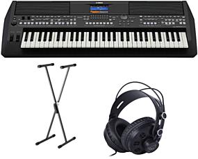 Yamaha PSR-SX600 Arranger Keyboard Package