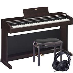 Yamaha YDP-144 Paquet de Piano Numérique en Bois de Rose