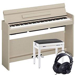 Yamaha Arius YDP-S34 Paquet de Piano Numérique en Frêne Blanc