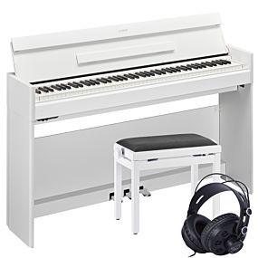 Yamaha YDP-S54 Paquet de Piano Numérique Blanc