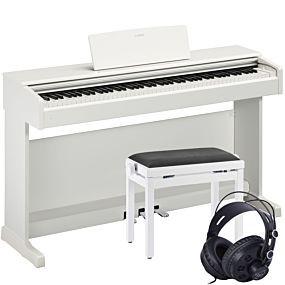 Yamaha YDP-144 Paquet de Piano Numérique Blanc