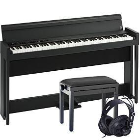 Korg C1 AIR Digitalpiano Schwarz Set