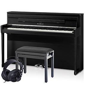 Kawai CA99 Digitalpiano Premium Schwarz Satiniert Set