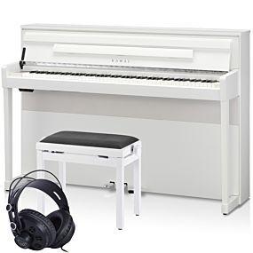Kawai CA99 Digitalpiano Premium Weiß Set