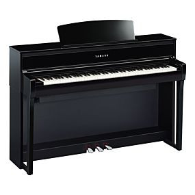 Yamaha CLP-775 Schwarz Poliert Digital Piano
