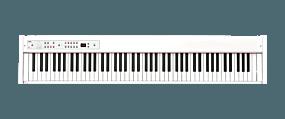 Korg D1 Weiß Stage-Piano