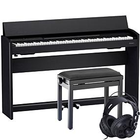 Roland F-701 Schwarz Digital Piano Set