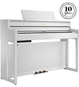 Roland HP704 Digitalpiano Weiß