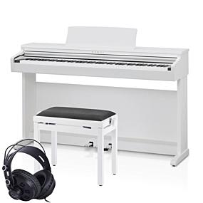 Kawai KDP-120 Weiß Digital Piano Set