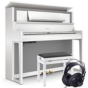 Roland LX708 Digitalpiano Weiß Set