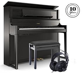 Roland LX708 Digitalpiano Schwarz Set
