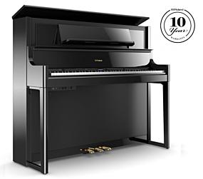 Roland LX708 Digitalpiano Schwarz Poliert