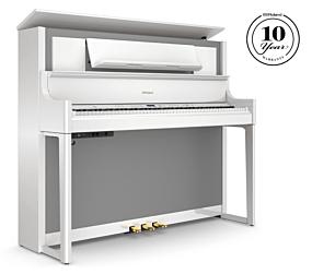 Roland LX708 Digitalpiano Weiß Poliert