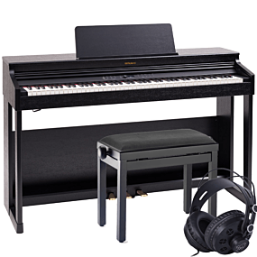 Roland RP-701 Schwarz Digital Piano Set