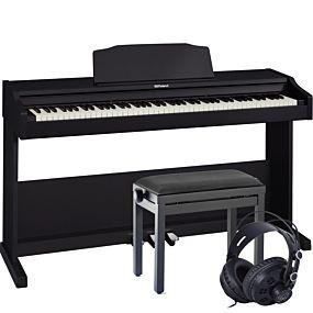 Roland RP102 Digitalpiano Schwarz Set