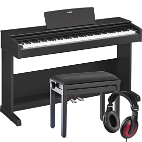 Yamaha YDP-103 Schwarz Digital Piano Set