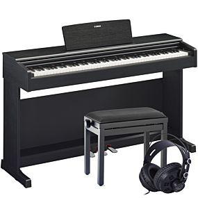 Yamaha Arius YDP-144 Digitalpiano Schwarz Set