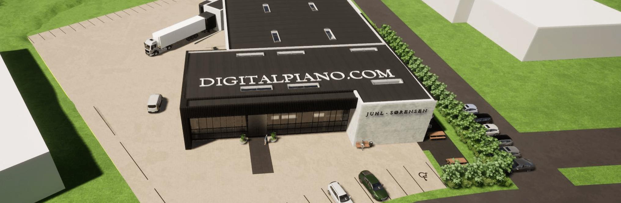 Neues Domicil für Digitalpiano.com