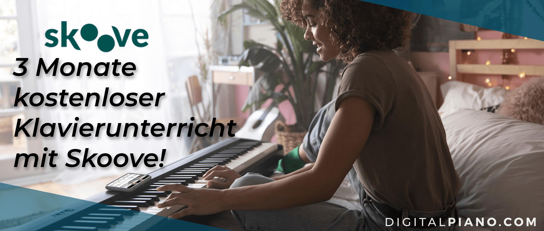 Drei Monate kostenloser Klavierunterricht!