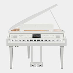 Yamaha CVP-809 Grand Piano Clavinova Polished White Digital Piano