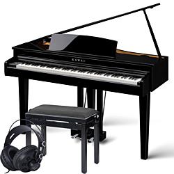 Kawai DG-30 Polished Ebony Digital Grand Piano Package