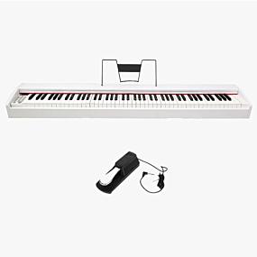 DP-10 White Digital Piano by Digitalpiano.com