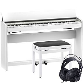 Roland F-701 White Digital Piano Package