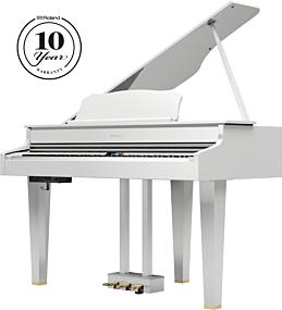 Roland GP-607 White Digital Piano