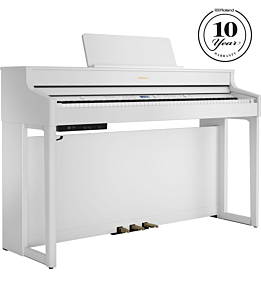Roland HP-702 White Digital Piano