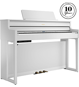 Roland HP-704 Hvid Digital Piano