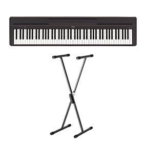 Yamaha P-45 Digital Piano med Krydsstativ SKS 01