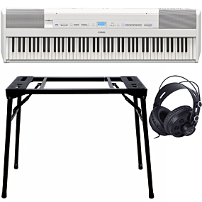 Yamaha P-515 White + Stand (DPS-10) & Headphones